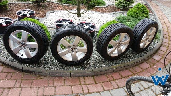 Oryginalne Koła letnie VW 5x112 205/55 R16 Bridgestone