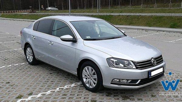 VW Passat B7,sedan, polski salon, serwisowany