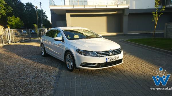 VW CC - bogata wersja / zamiana