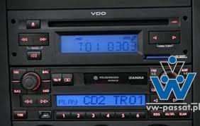 Radio Gamma V + VDO MP3 player ze slotem kart SD