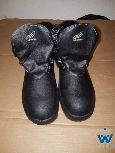 Ubranie drelichowe niebieskie BEAR BHP 5szt. buty ochronne trzewiki BHP