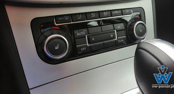 Panel klimatronik + ramka 5K0907044BT