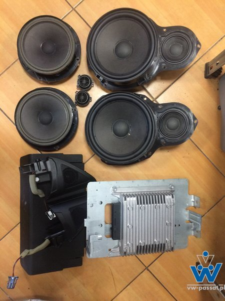 System dźwiękowy 8 kanałów VW CC LIFT i inne