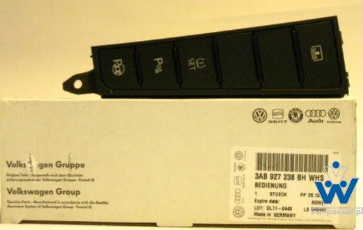 Panel przełączniki VW CC LUB B7